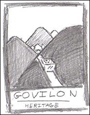 Govilon Heritage - Logo Design 15